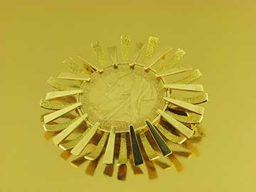 medallón compro oro online